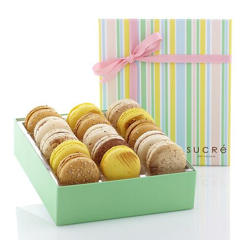 sucre macarons