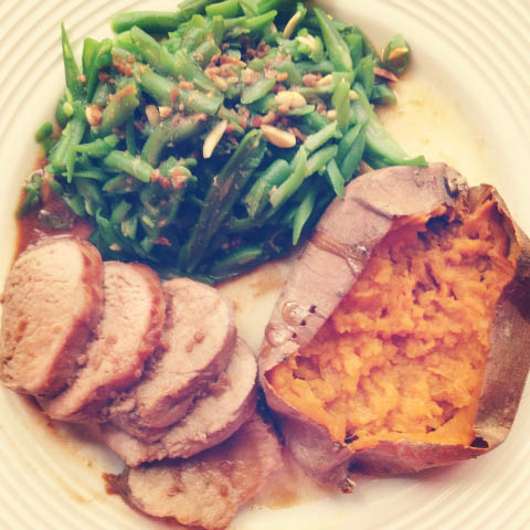 pork tenderloin dinner