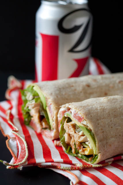 Turkey, Bacon, and Avocado Wrap