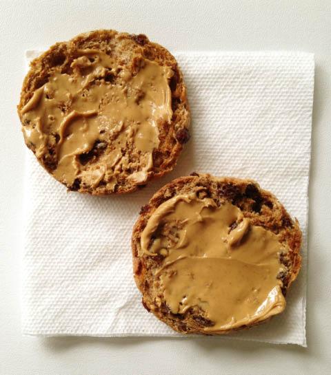 peanut butter english muffin