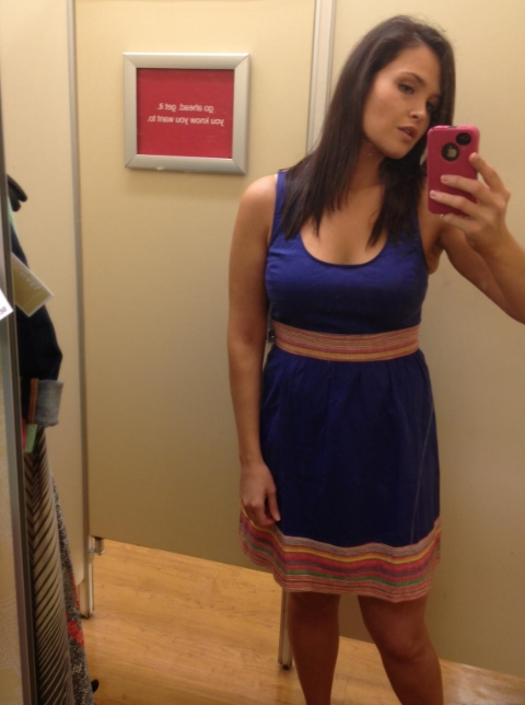 TJ Maxx dressing room