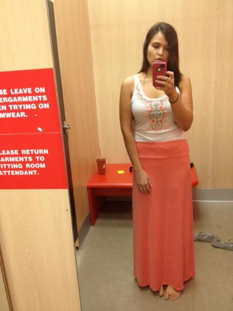 Target dressing room