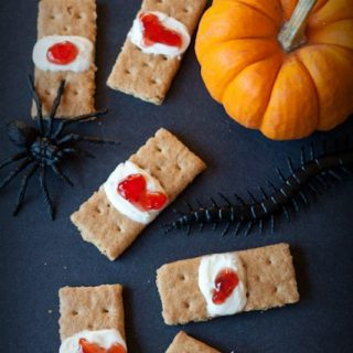 halloween bloody bandage cookies