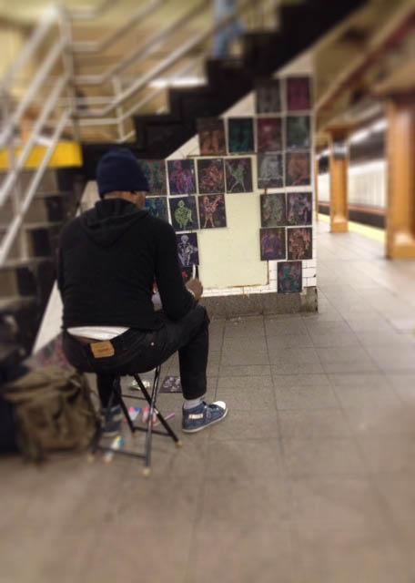 subway artist