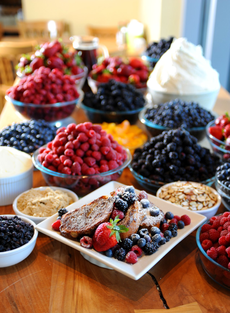 portage bay toppings bar