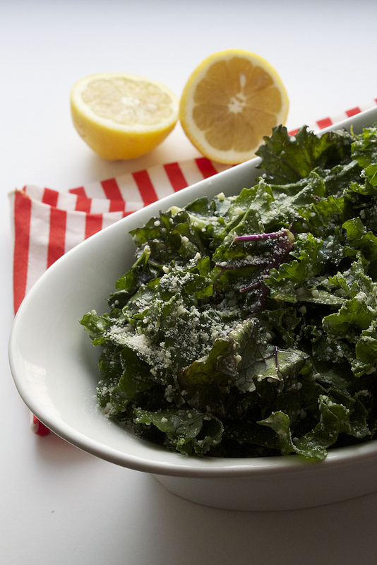 Easy No-Massage Kale Caesar Salad | Can You Stay For Dinner?