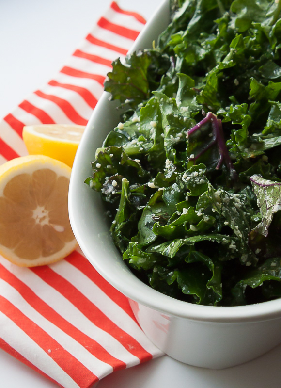Easy No Massage Kale Caesar Salad Recipe