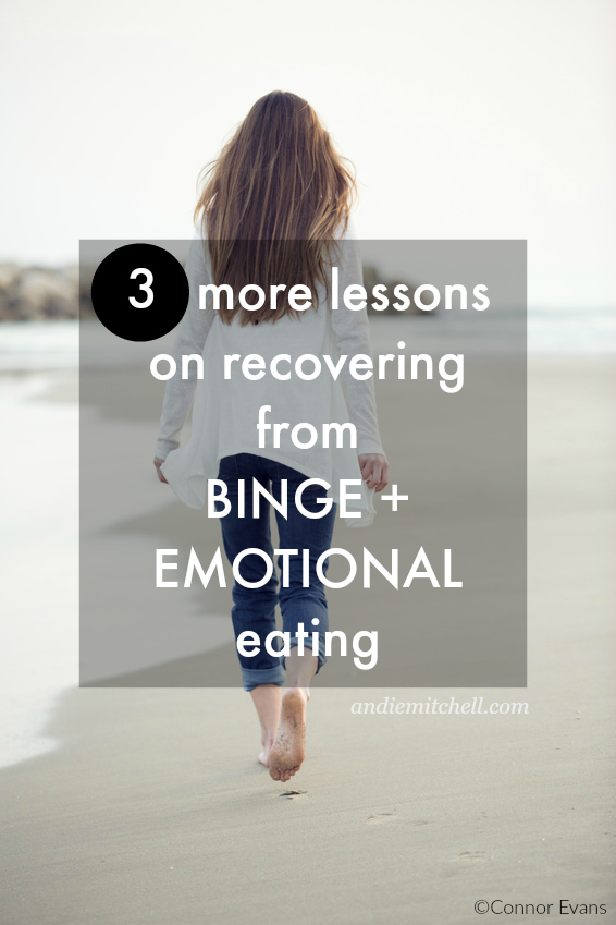 3 Tips on How to Stop Emotional Eating - New York Times bestselling author and loser of 135 pounds, Andie Mitchell, shares her best tips on how to stop emotional eating