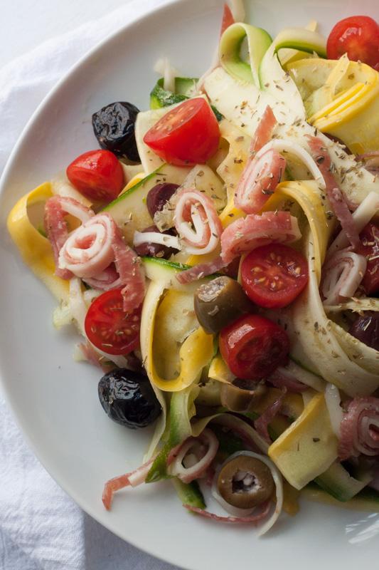 Spring Zucchini Ribbon Salad