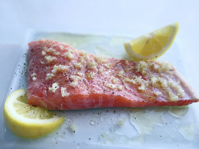 marinate salmon