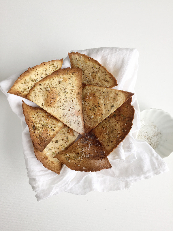 how to make healthy baked tortilla chips