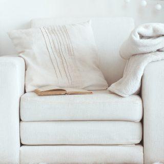 Cozy interior details