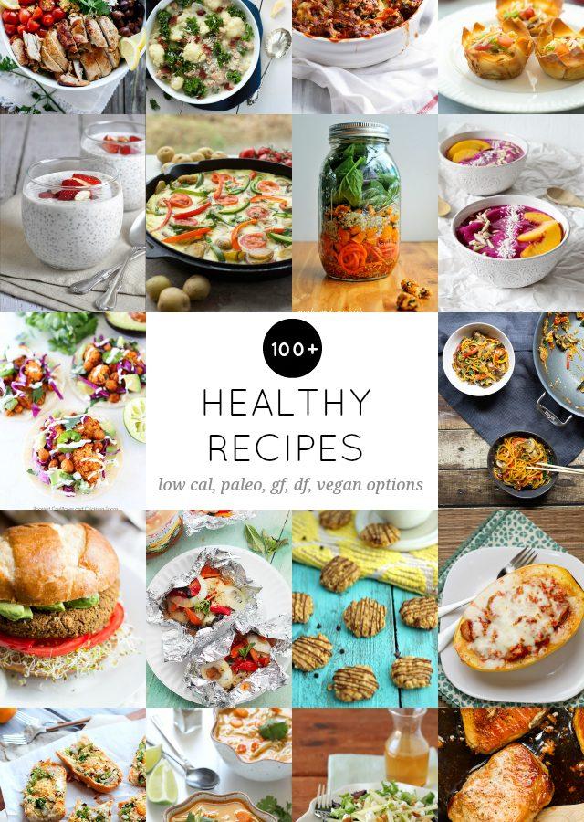 100+ Healthy Recipes