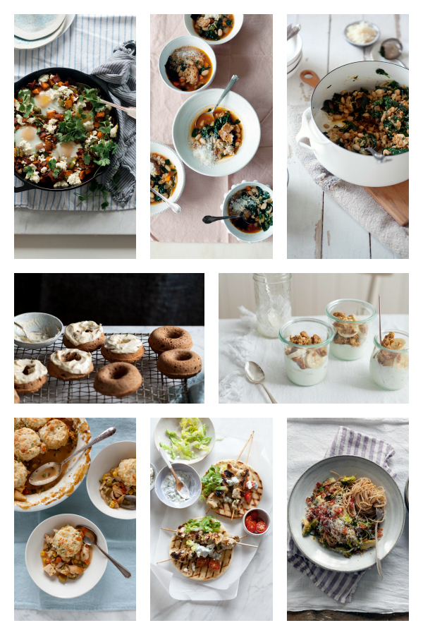 Healthy Recipes from Eating in the Middle: A Mostly Wholesome Cookbook, by Andie Mitchell