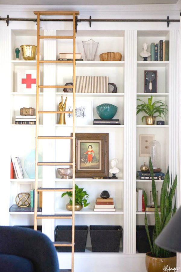 The Makerista Ikea Hack Using Billy Bookcases