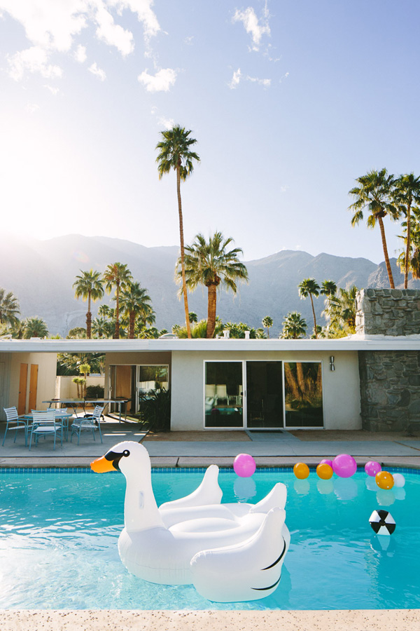 Palm Springs - photo by Mary Costa Photo