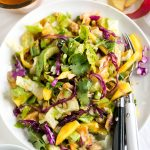 Tilapia Thai Salad with Coconut Red Curry Dressing