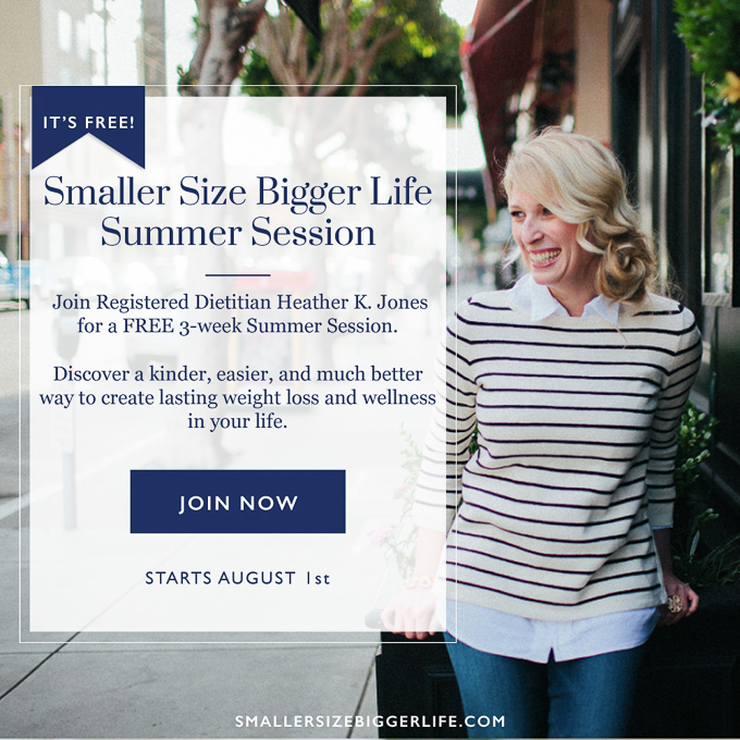 3 Surprising Ways I Created My Healthy And Happy Life - Smaller Size Bigger Life Summer Session with Heather K Jones