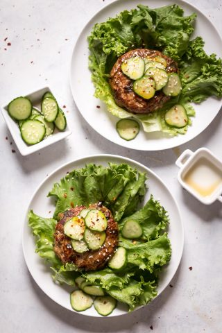 Asian Turkey Burgers Recipe and Terra's Kitchen Review