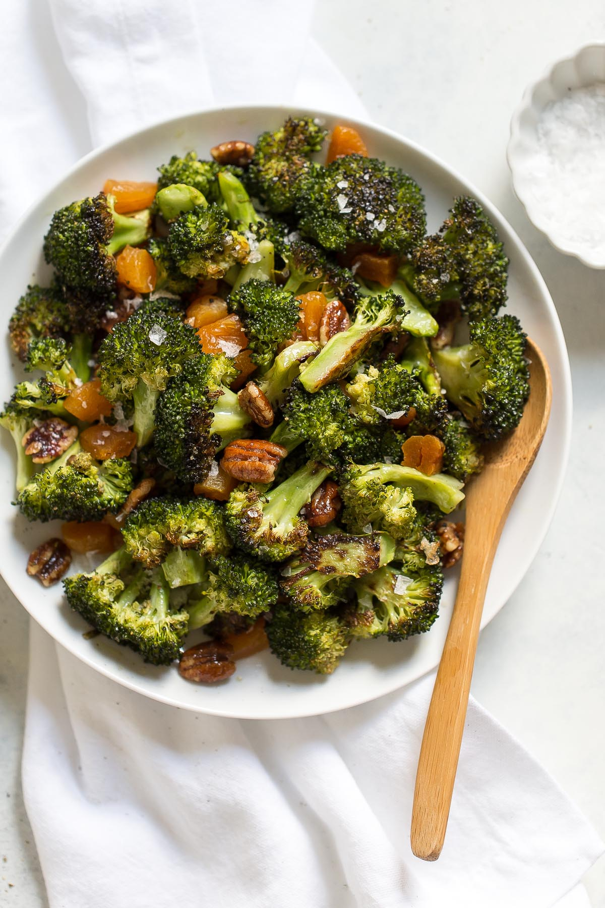 Broccoli Salad with Apricots and Pecans