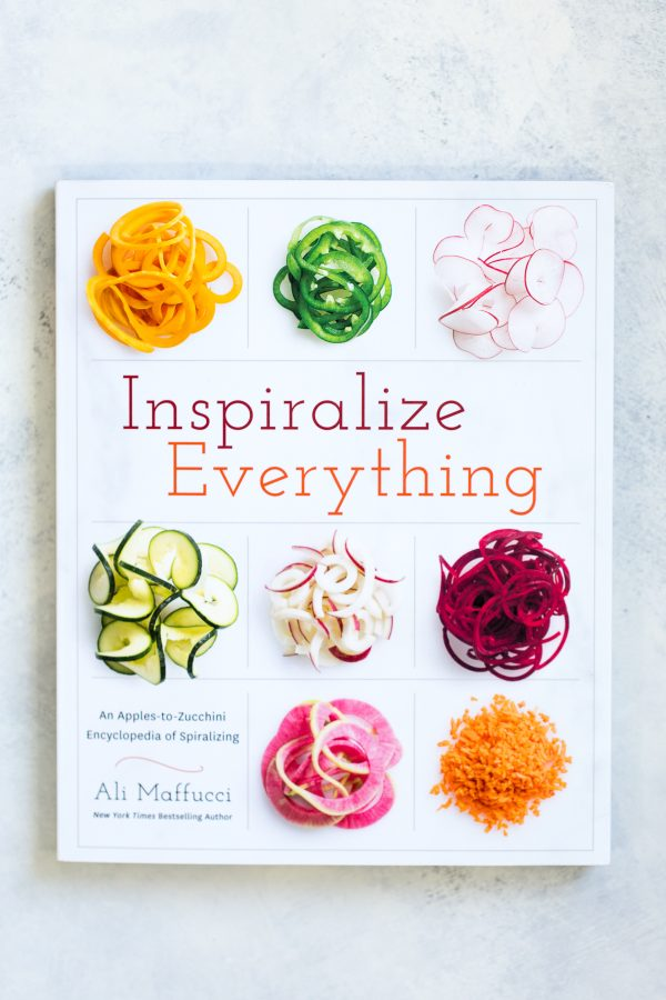 Inspiralize Everything Cookbook by Ali Maffucci