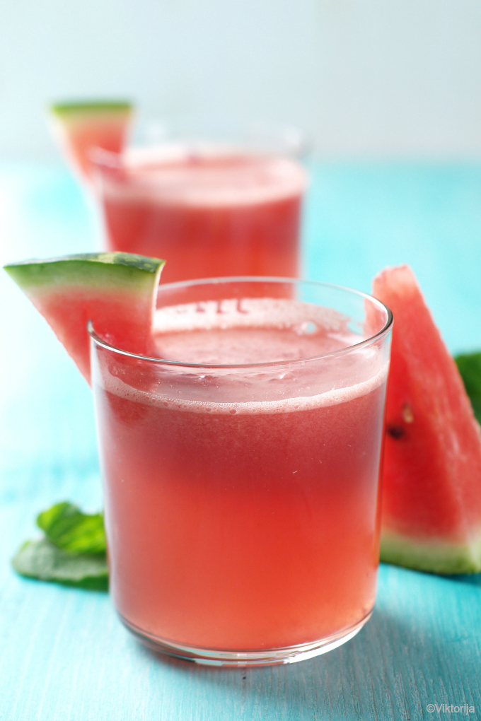 watermelon lemonade - photo by ©Viktorija