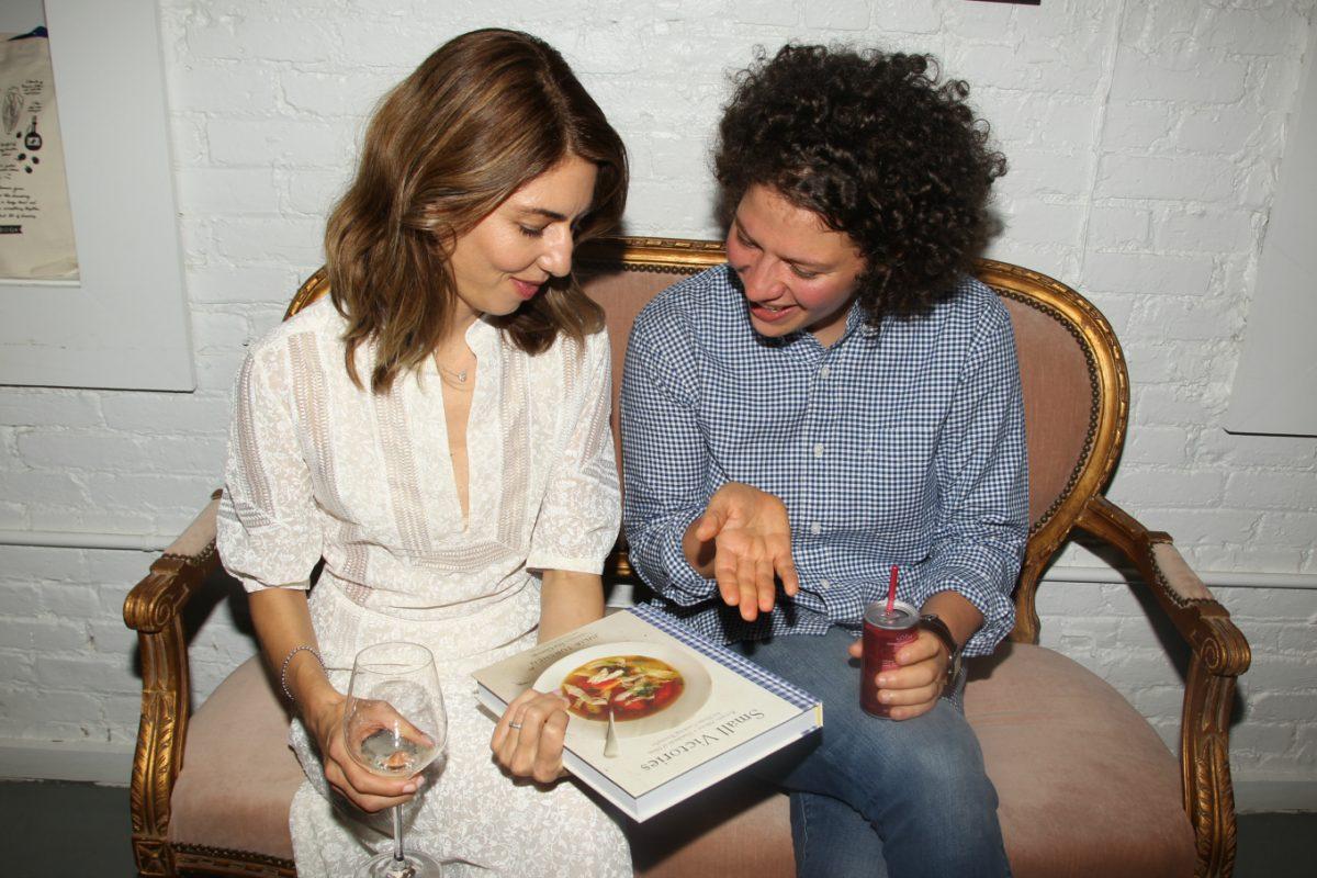 Sofia Coppola and Julia Turshen at the Small Victories cookbook release party. Photo by Dave Allocca