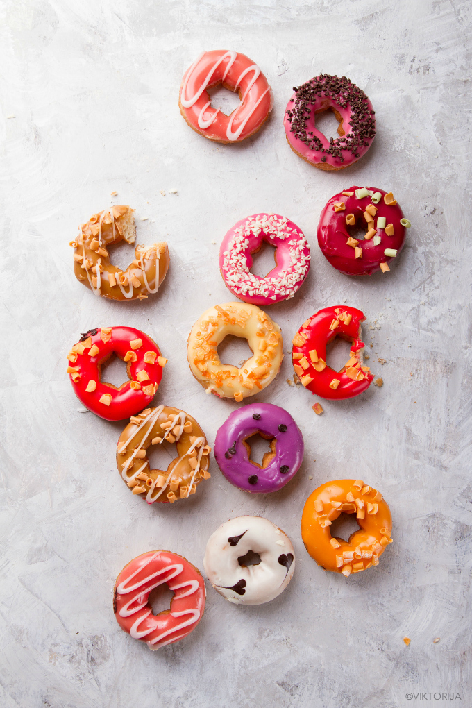 doughnuts photo by viktorija