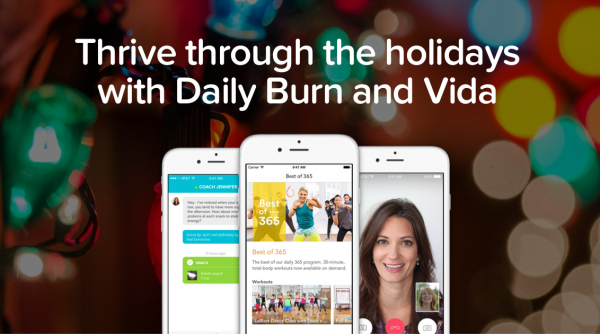 Vida App Thrive through the Holidays
