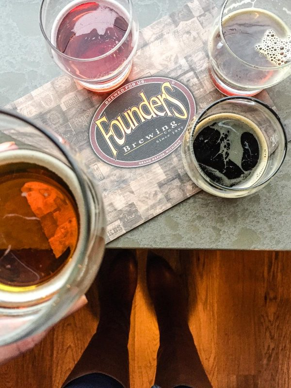 Founders Brewing Company - craft beer tour in Grand Rapids Michigan