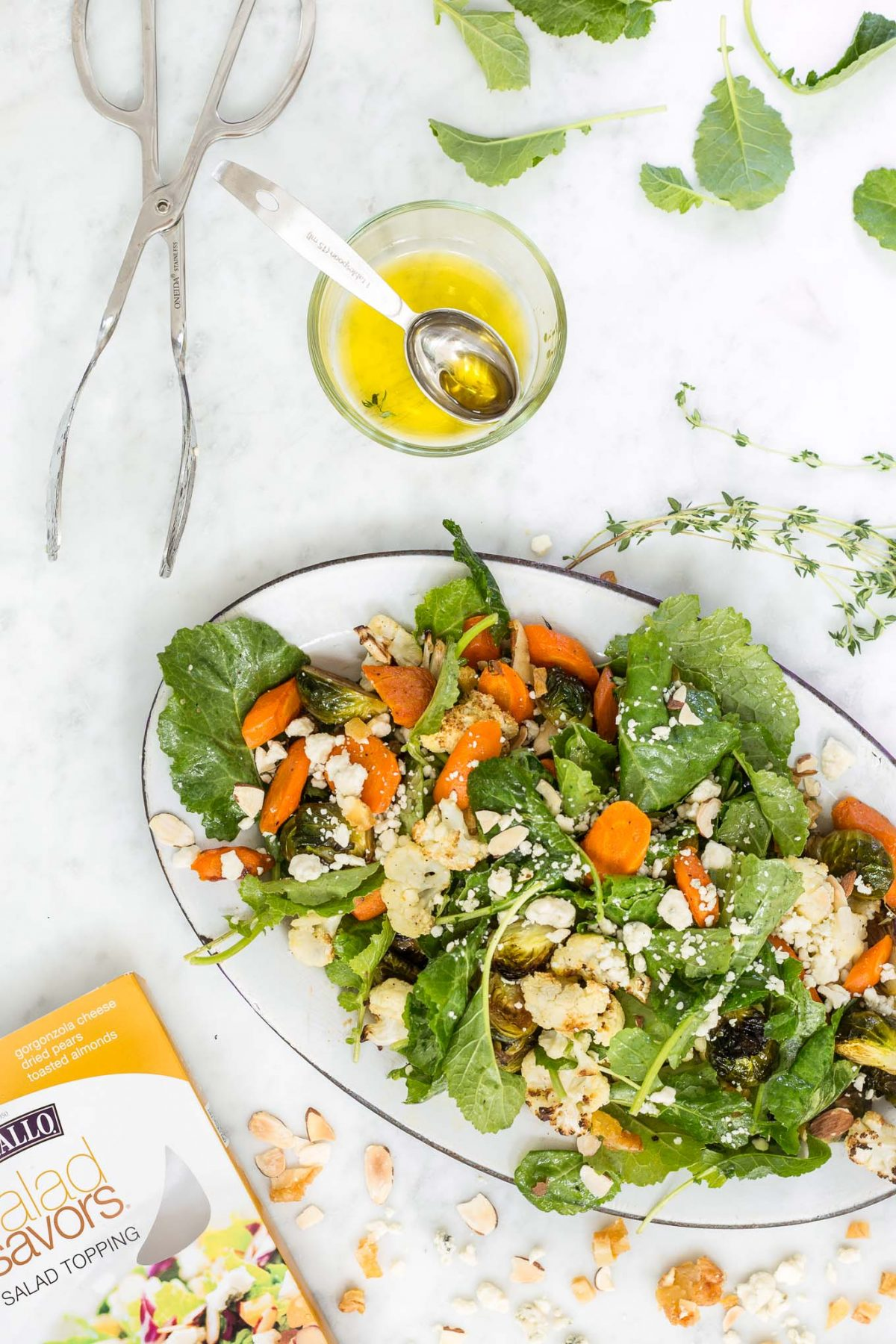 Harvest Salad with Pear and Gorgonzola