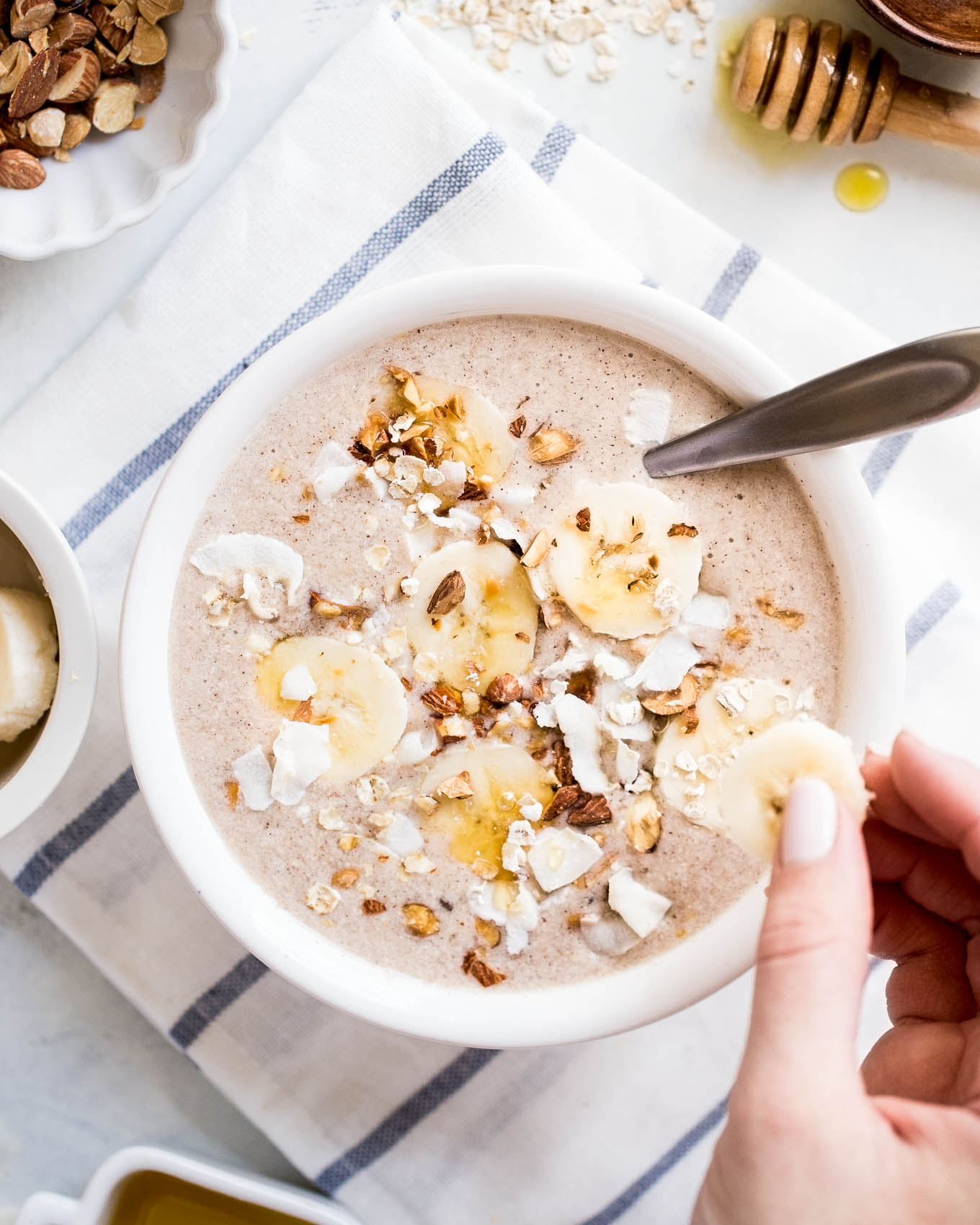 Banana Bread Smoothie Bowl