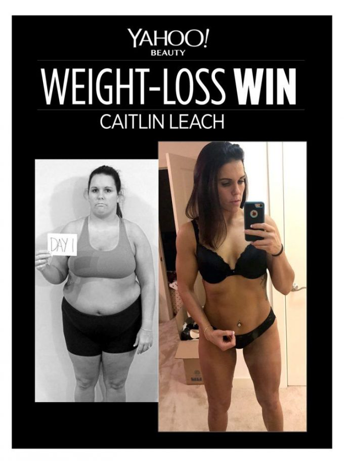 Weight Loss Win - Caitlin Leach lost 100 pounds and shares her inspiring journey