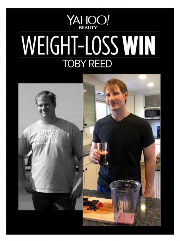 "How Toby Reed Lost 95 Pounds: ""I Couldn't Let My Newborn Son Down, So I Had to Figure Out How to Change"""