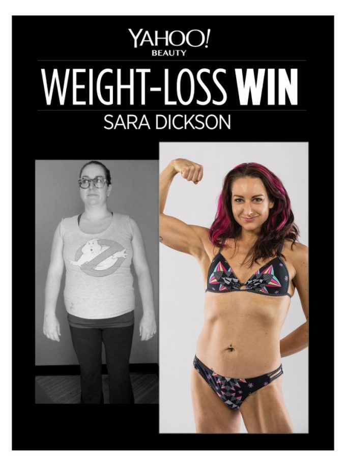 How Sara Dickson Lost 50 Pounds