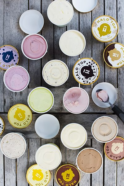Halo Top ice cream flavors (photo by Raul Velasco)