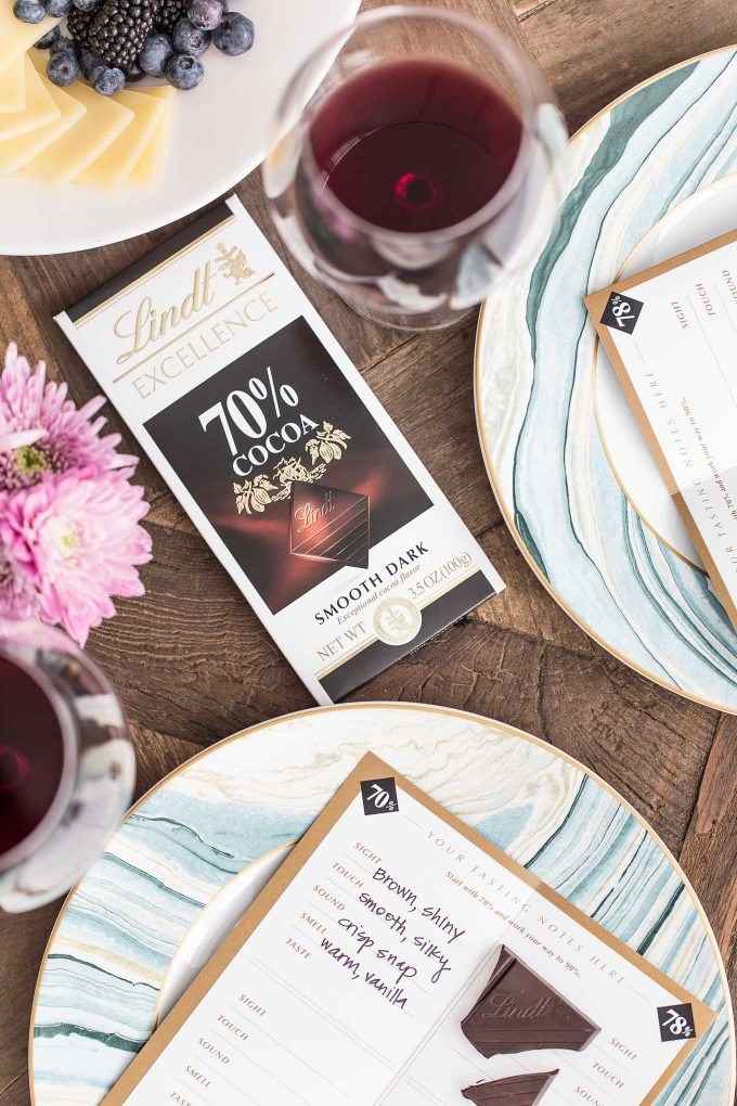 Lindt Chocolate and Wine Pairing Party