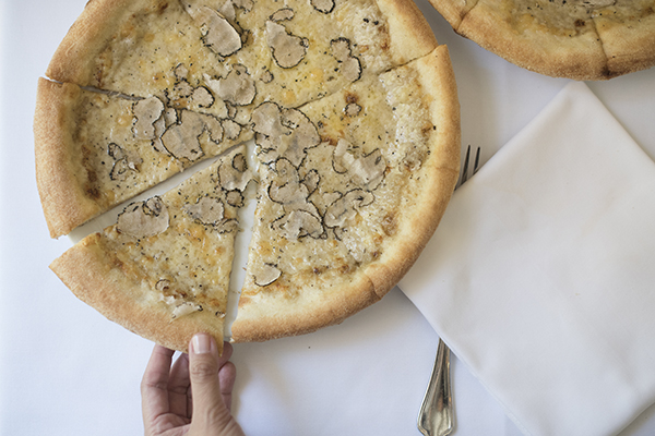 Focaccia al tartufo at Mamo NYC (photo by Raul Velasco)