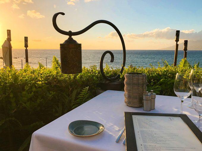 Dinner at Ferraro's Four Seasons Maui
