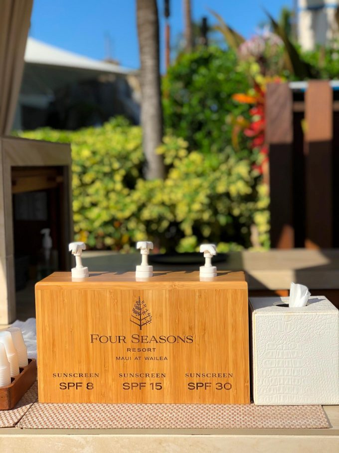 Amenities at Four Seasons Maui