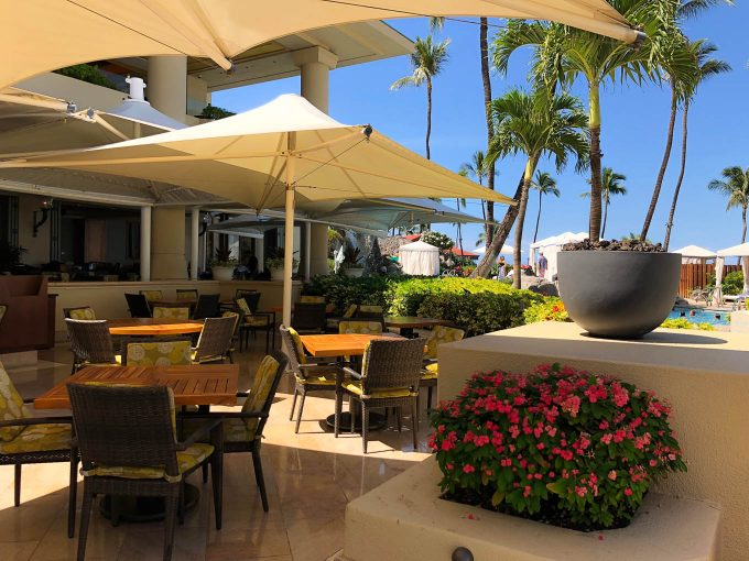 Duo restaurant at Four Seasons Maui