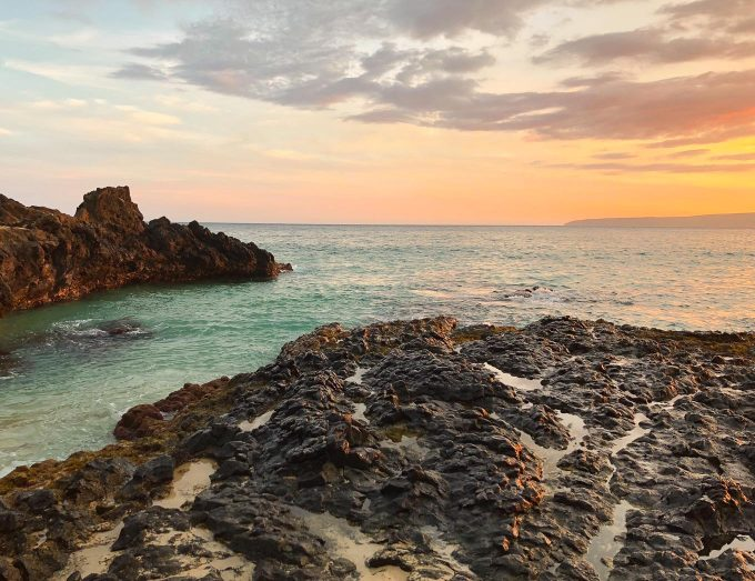 sunset photography tour on secret beach in maui