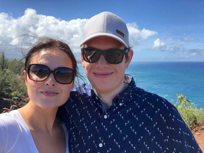 andie and daniel in kauai