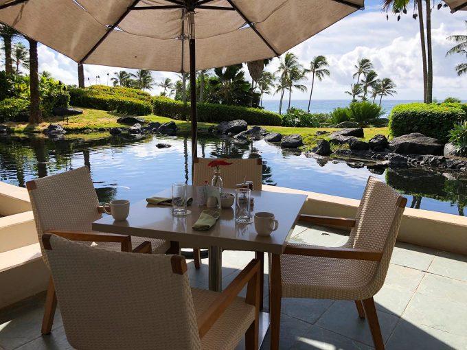breakfast at Ilima Terrace