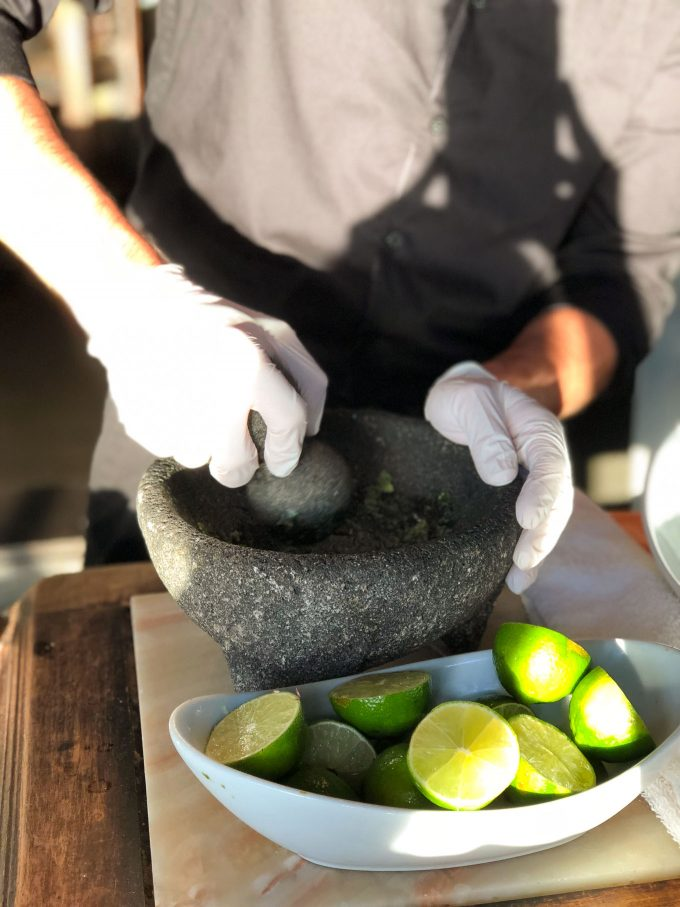 fresh guacamole at Tortilla Republic