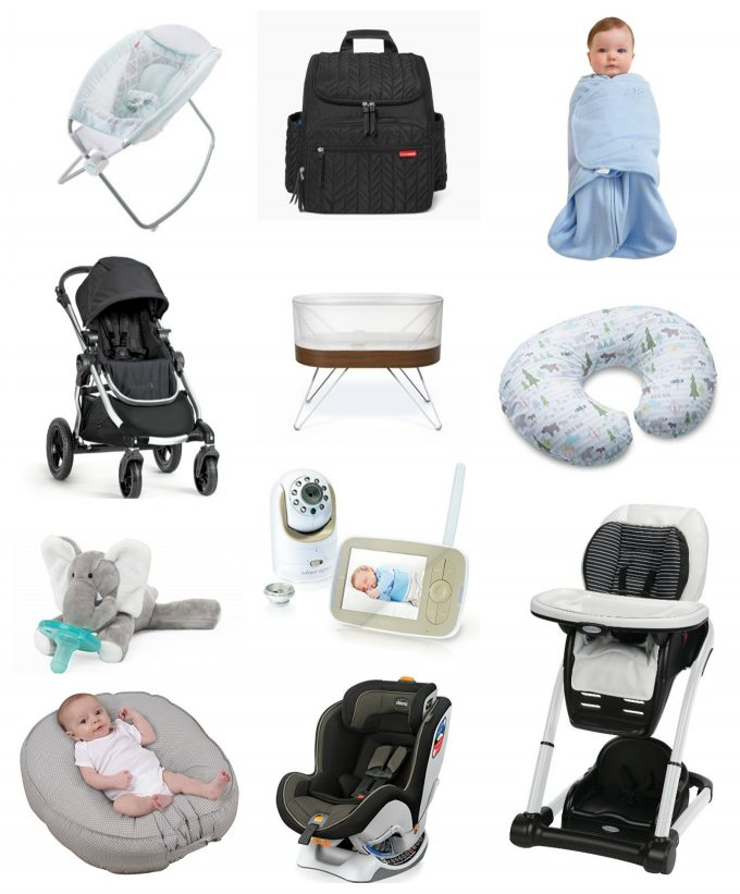 All the things we got for baby