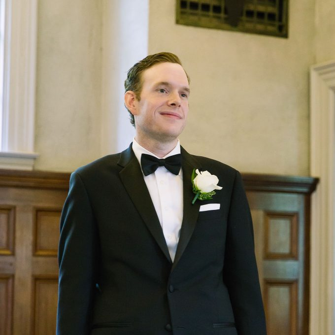 Daniel at our wedding