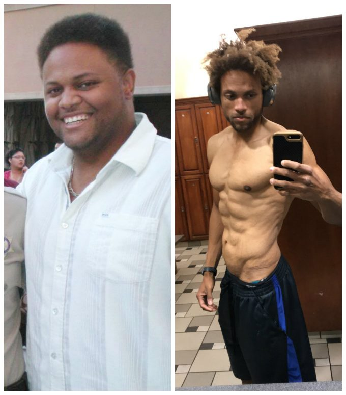How Anthony Brown Lost 180 Pounds