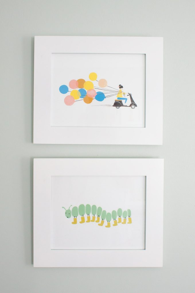 rifle paper co nursery art prints