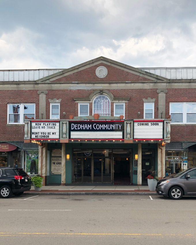 Dedham Community Movie Theater